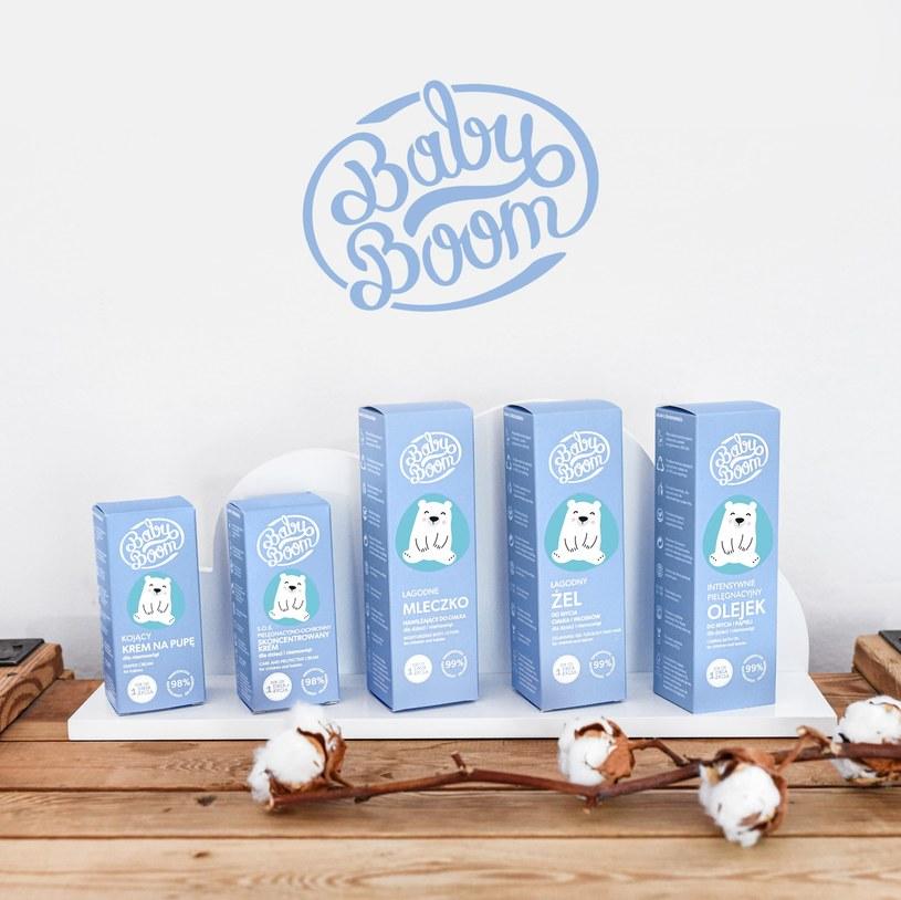 Nowość - kosmetyki BabyBoom dla dzieci /materiały prasowe