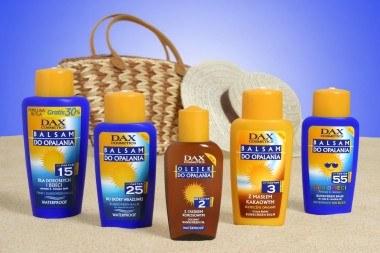 Nowości do opalania DAX Cosmetics /materiały prasowe