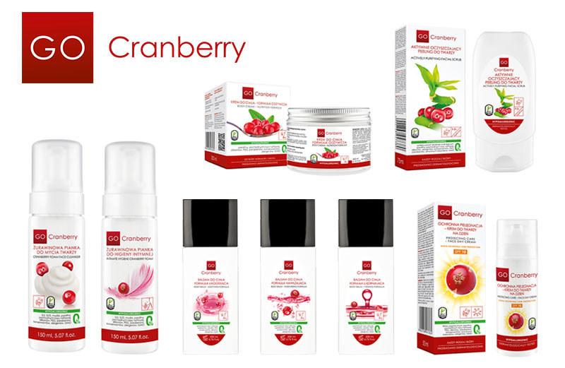 Nowości w serii GoCranberry, Nova Kosmetyki /materiały prasowe