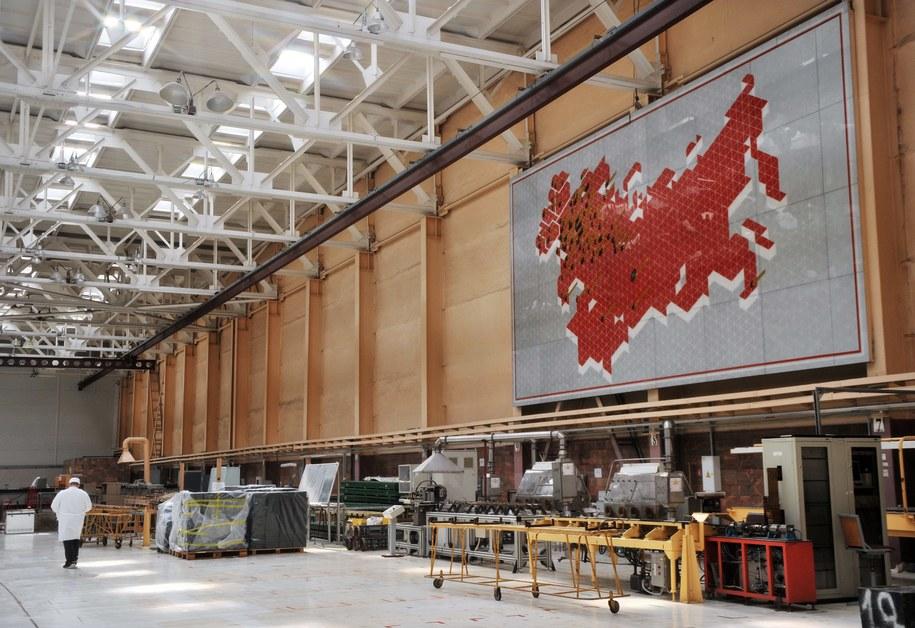 Nowosybirsk, zakład produkujący uran /Kurskov Yevgeny    /PAP/EPA