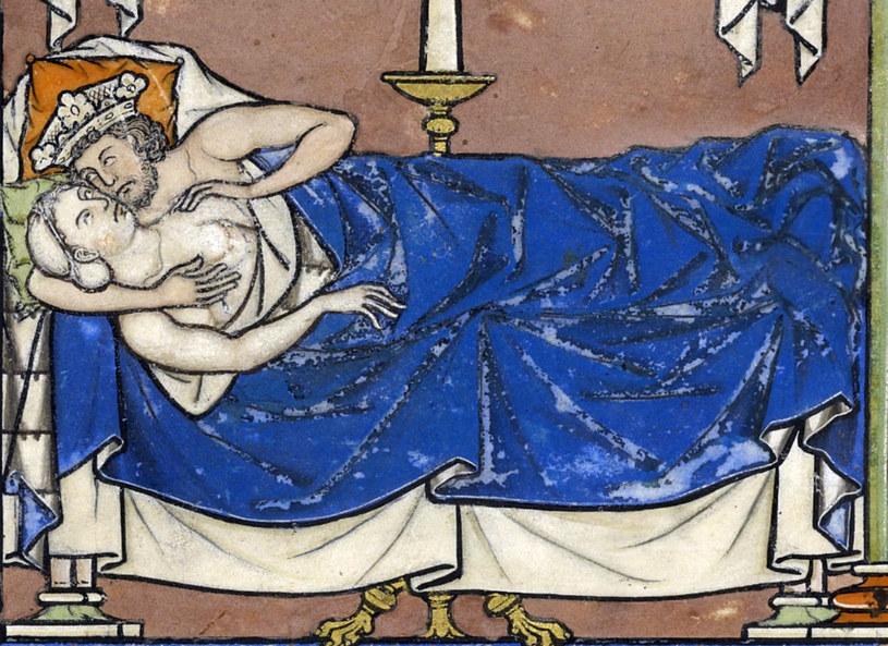 Nowożytni królowie i królowe nie mieli prywatnego życia. Noc poślubna nie była tutaj wyjątkiem (domena publiczna) /Ciekawostki Historyczne