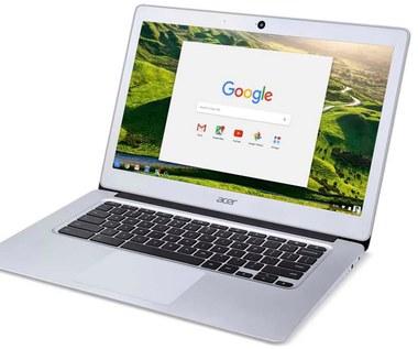 Nowy, aluminiowy Chromebook Acera