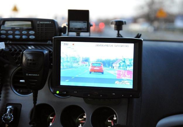 Nowy bat na kierowców... / Fot: Paweł Skraba /Reporter