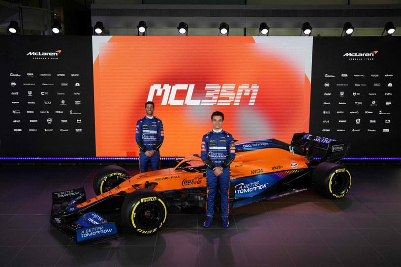 Nowy bolid McLarena został po raz pierwszy pokazany 15 lutego /AFP
