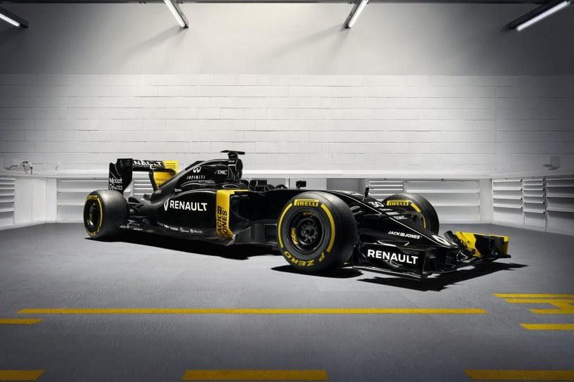 Nowy bolid Renault /