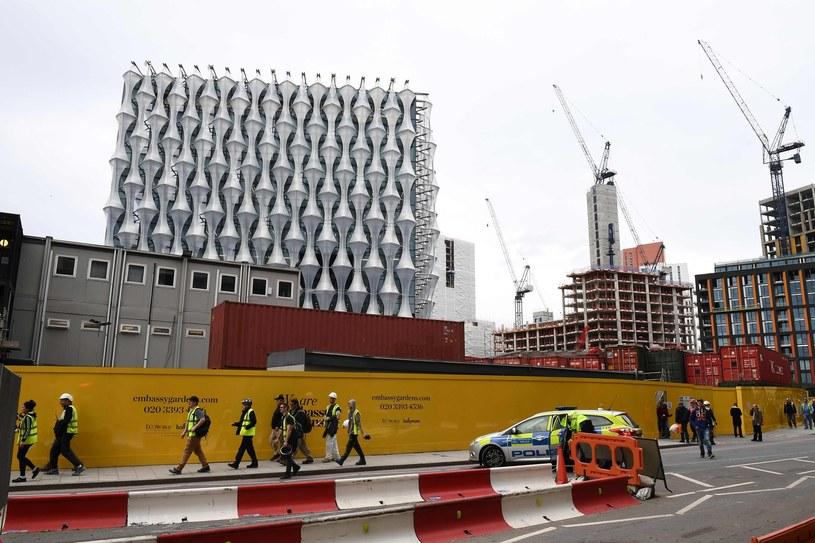 Nowy budynek ambasady USA w Londynie ma być ulranowoczesny /AFP