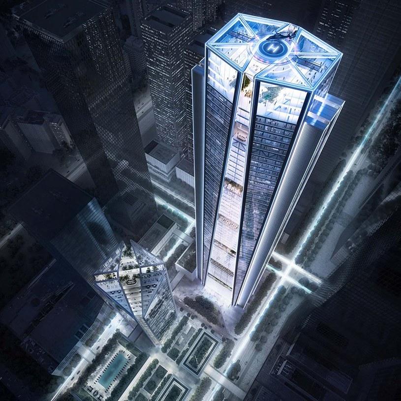 Nowy budynek będzie miał 350 m wysokości /materiały prasowe