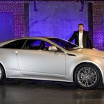 Nowy cadillac CTS coupe