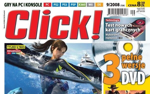 Nowy Click! odsłania swoje oblicze... /INTERIA.PL