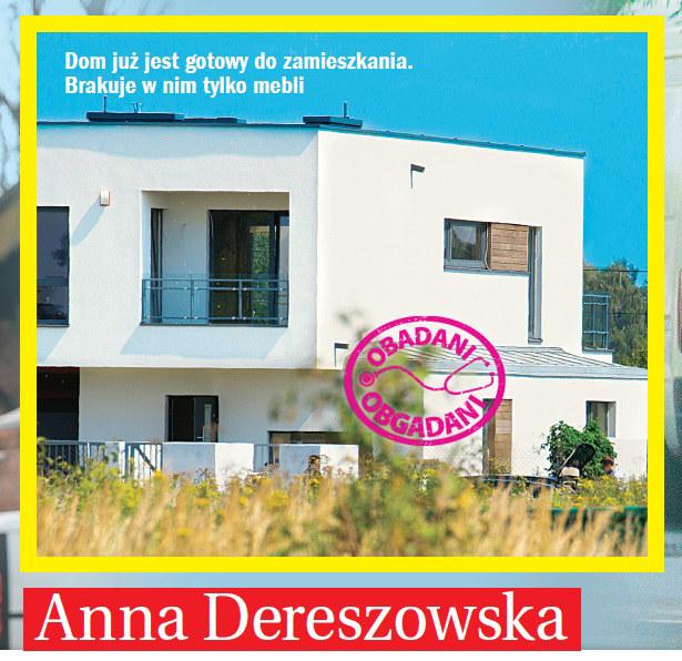 Nowy dom Anny Dereszowskiej. Przeprowadzka niebawem /Życie na gorąco