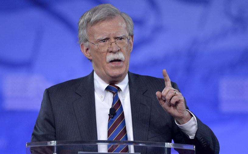 Nowy doradca prezydenta USA ds. bezpieczeństwa narodowego John Bolton /MIKE THEILER /AFP