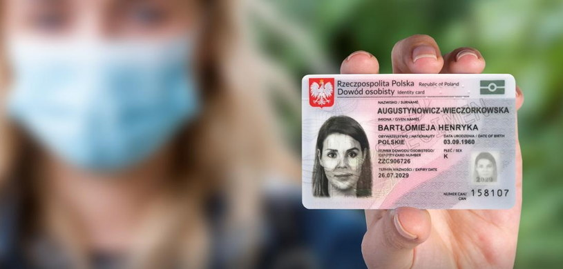 Nowy dowód osobisty. Fot. Gov.pl /materiały prasowe
