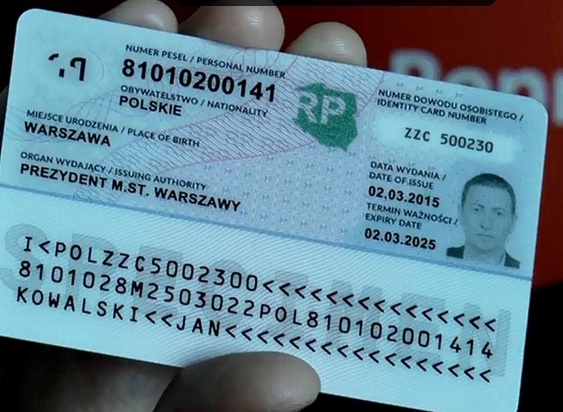 Nowy dowód osobisty /msw.gov.pl /