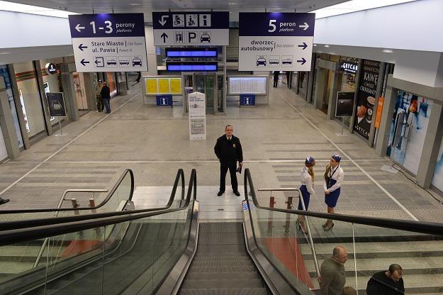 Nowy dworzec kolejowy Kraków Główny /PAP