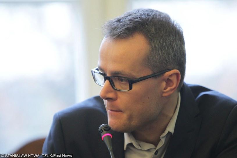 Nowy dyrektor pierwszego programu Telewizji Polskiej Jan Pawlicki /Stanisław Kowalczuk /East News