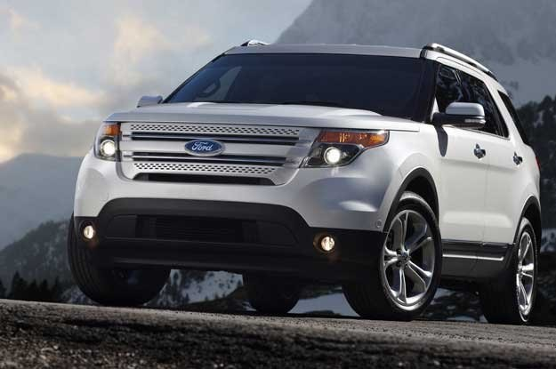 Nowy ford explorer /