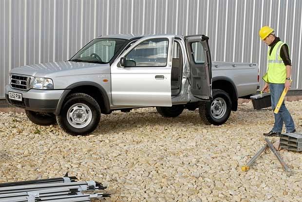Nowy Ford Ranger (kliknij) /INTERIA.PL