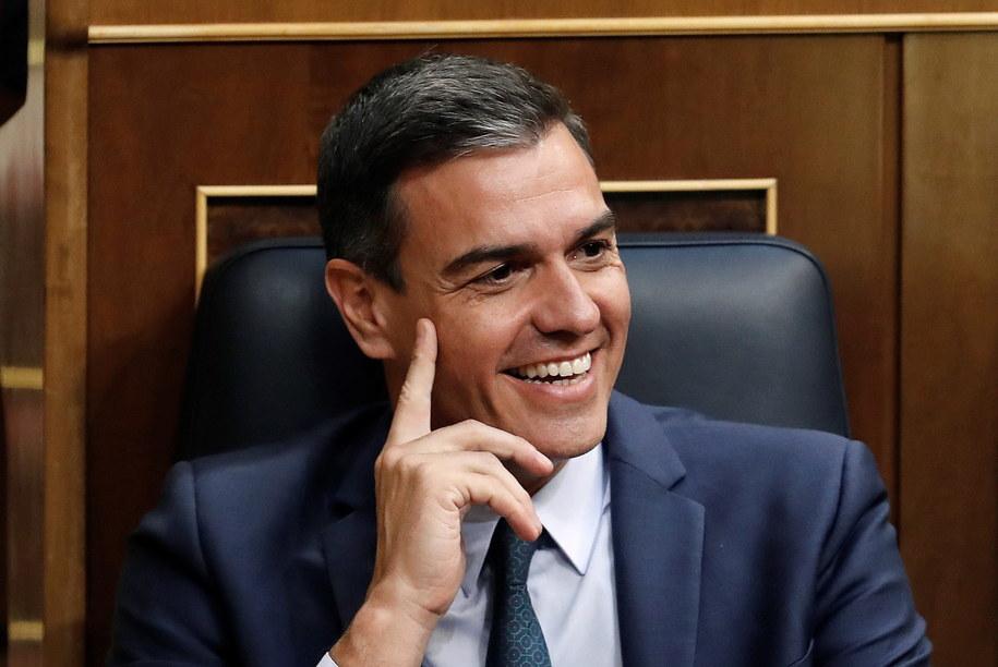 Nowy gabinet Pedra Sancheza w czwartek po raz drugi nie uzyskał w Kongresie Deputowanych poparcia większości /Ballesteros    /PAP/EPA