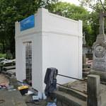 Nowy grób Piotra Woźniaka-Staraka
