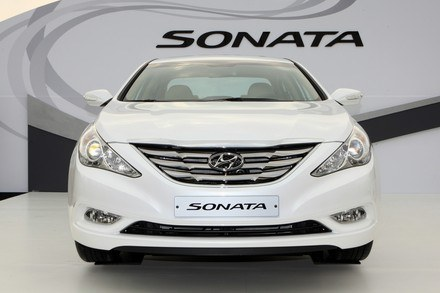 Nowy hyundai sonata /