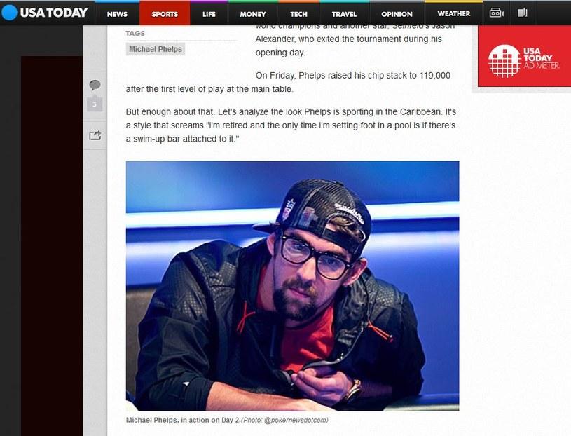 Nowy image Michaela Phelpsa/USA Today /Internet