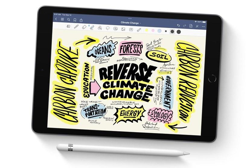 Nowy iPad 10.2 /materiały prasowe
