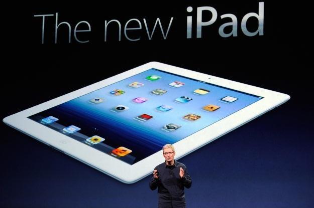 Nowy iPad z ekranem Retina i sklonowaną od poprzednika obudową /AFP