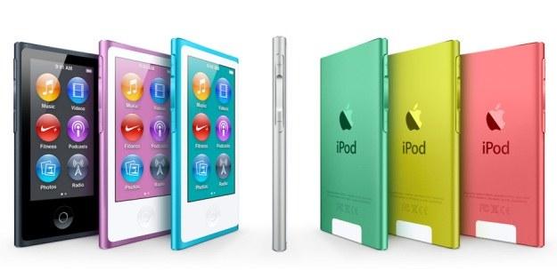 Nowy iPod nano - 7 kolorów. Oba iPody mają nowe słuchawki - EarPods /INTERIA.PL