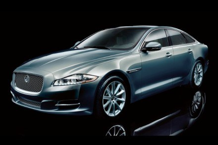 Nowy jaguar XJ /INTERIA.PL