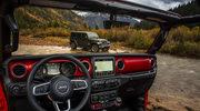 Nowy Jeep Wrangler odsłania wnętrze