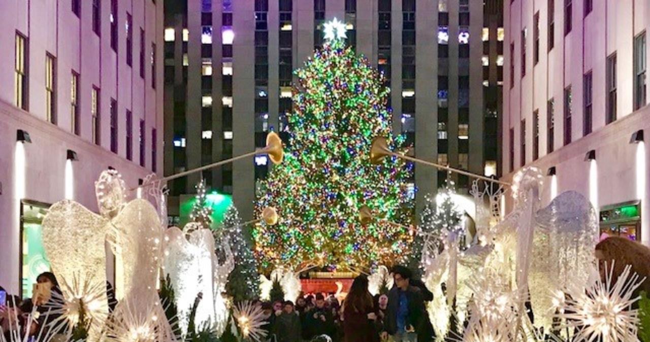 Nowy Jork gotowy na Boże Narodzenie