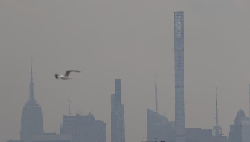 Nowy Jork: Jakość powietrza najgorsza od 15 lat