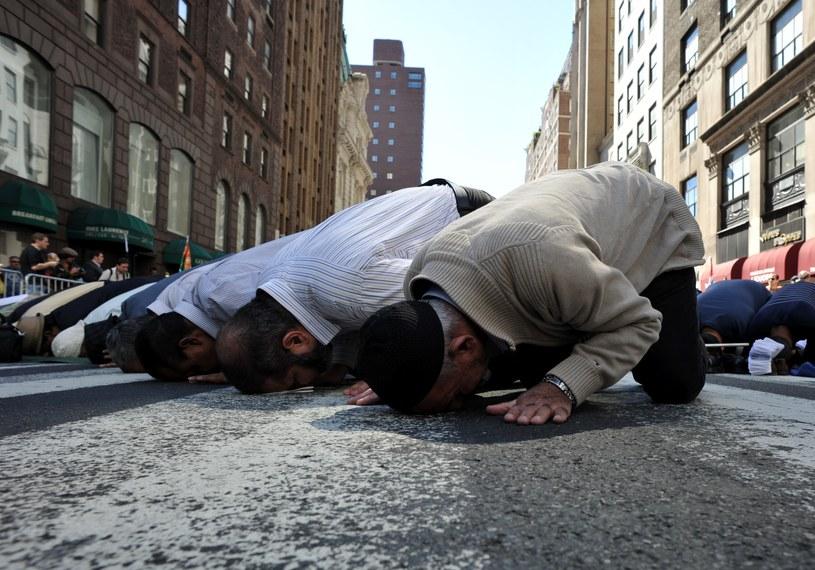 Nowy Jork - muzułmanie na Madison Avenue /AFP