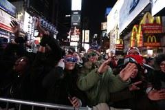 Nowy Jork powitał rok 2016 z przytupem! Miliony ludzi na Times Square