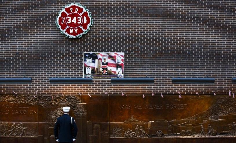 Nowy Jork uczcił ofiary zamachów na World Trade Center /JUSTIN LANE /PAP/EPA