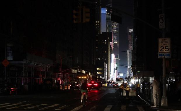 Nowy Jork w ciemnościach. Wielka awaria prądu