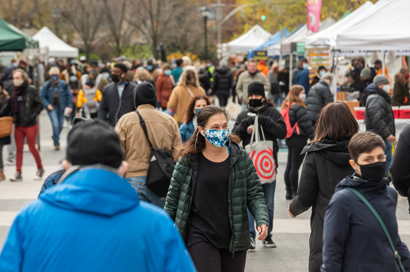 Nowy Jork w czasie pandemii /Noam Galai /Getty Images
