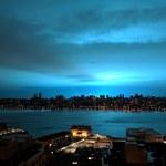 Nowy Jork: Wybuch spowodował niesamowity efekt na niebie