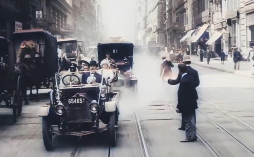 Nowy Jork z 1911 roku /YouTube