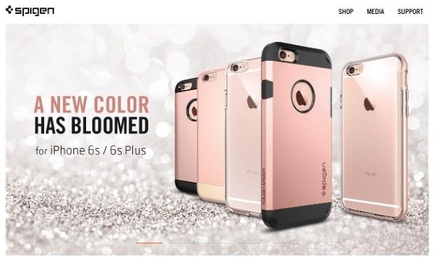 Nowy kolor smartfonów Apple.  Fot. Spigen /materiały prasowe