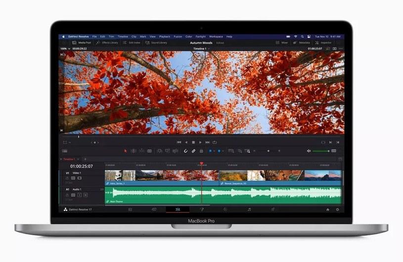 Nowy MacBook z procesorem Apple /materiały prasowe