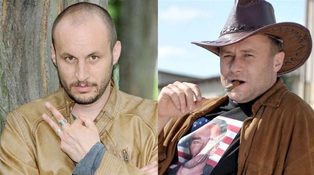 """Nowy Manej w """"Blondynce"""": Tomasz Borkowski. Po prawej Leszek Lichota /Agencja W. Impact"""
