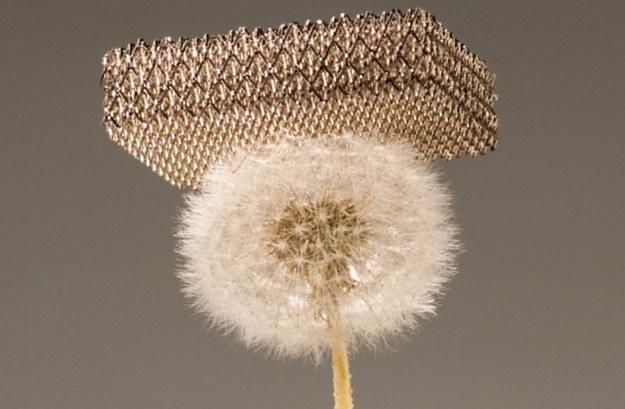 Nowy materiał w 99,9 proc. składa się z powietrza /materiały prasowe