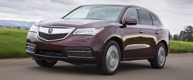 Nowy MDX to kolejny element ofensywy Acury. Należąca do Hondy marka premium nie najlepiej radzi sobie z konkurencją ze strony Infiniti, Lexusa, Cadillaca i producentów niemieckich. /Acura