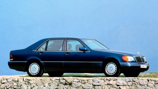 Nowy Mercedes 600 SEL w całej okazałości. /Mercedes