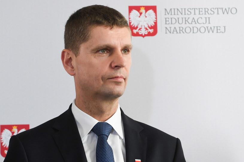 Nowy minister edukacji Dariusz Piontkowski /Piotr Nowak /PAP