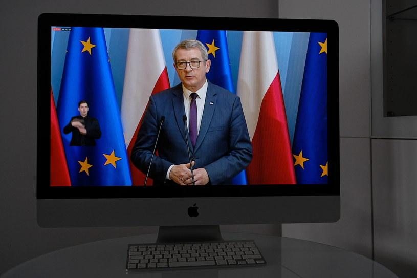 Nowy minister nauki i szkolnictwa wyższego Wojciech Murdzek /Mateusz Marek /PAP