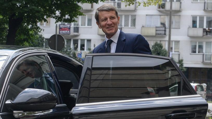 Nowy minister skarbu państwa Andrzej Czerwiński /Jakub Kamiński   /PAP