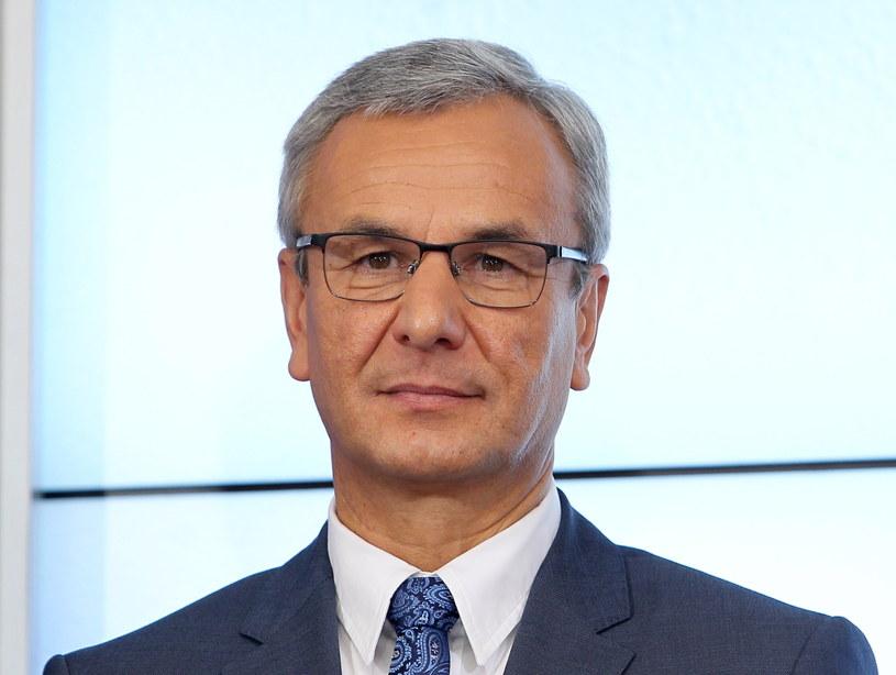 Nowy minister sportu Andrzej Biernat /Radek Pietruszka /PAP