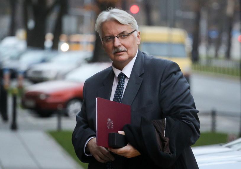 Nowy minister spraw zagranicznych Witold Waszczykowski /Paweł Supernak /PAP